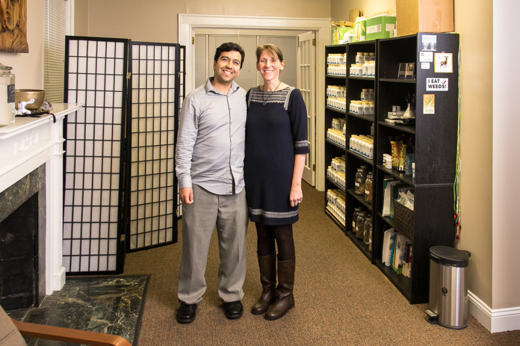 Michele and Andres 4 Branches Chinese Medicine Winston Salem